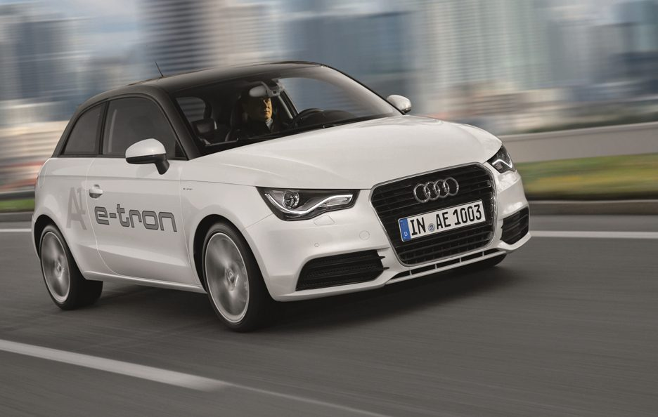 Audi A1 e-Tron - Frontale in motion