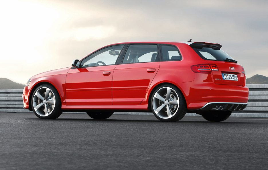 Audi RS3 Sportback - Laterale basso
