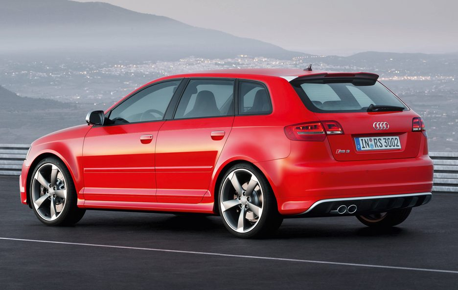 Audi RS3 Sportback - Laterale posteriore