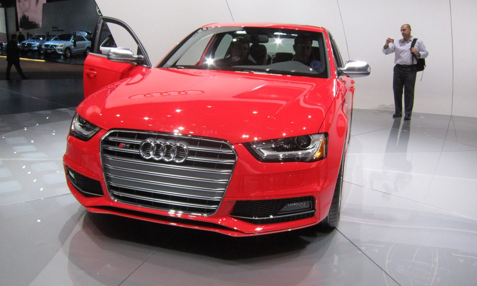 Audi S4 - Frontale