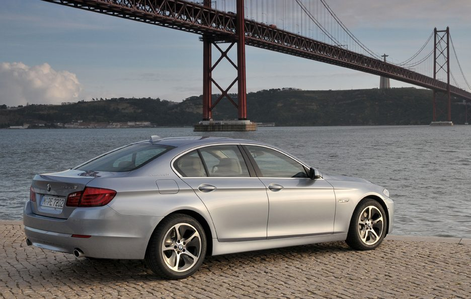 BMW ActiveHybrid 5 - Le linee