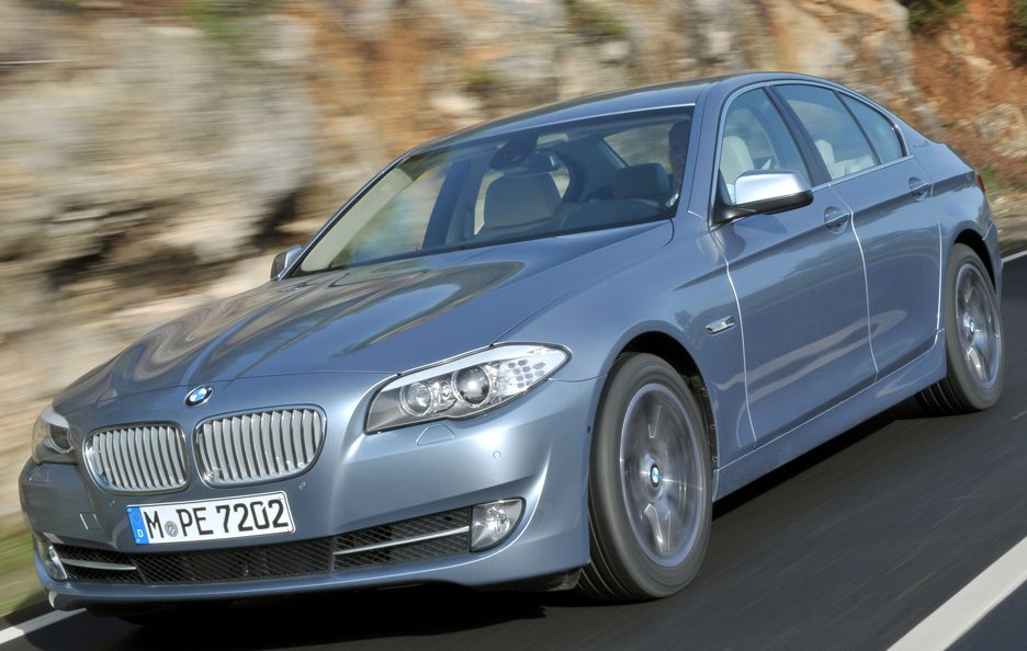 BMW ActiveHybrid 5 - Profilo in motion