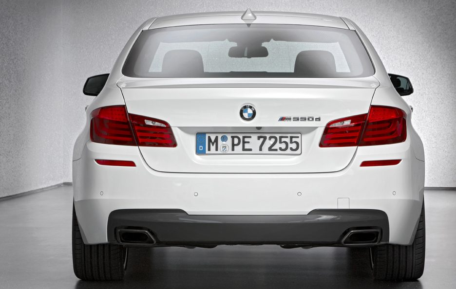 BMW M550d xDrive - Posteriore