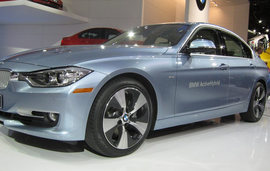 BMW Serie 3 Active Hybrid - Laterale basso