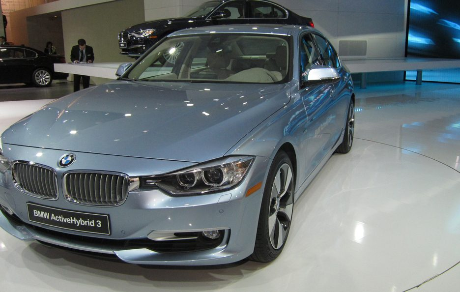 BMW Serie 3 Active Hybrid - Profilo frontale