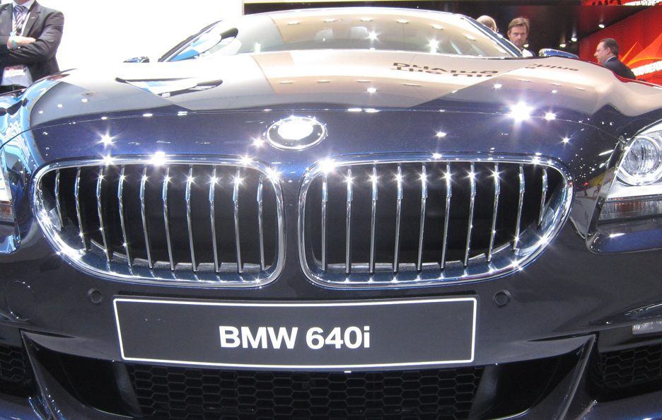 BMW Serie 6 - Griglia frontale
