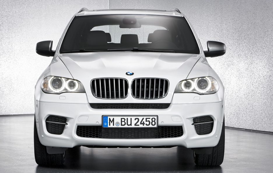 BMW X5 M50d - Frontale