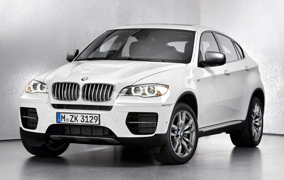 BMW X6 M50d - Frontale