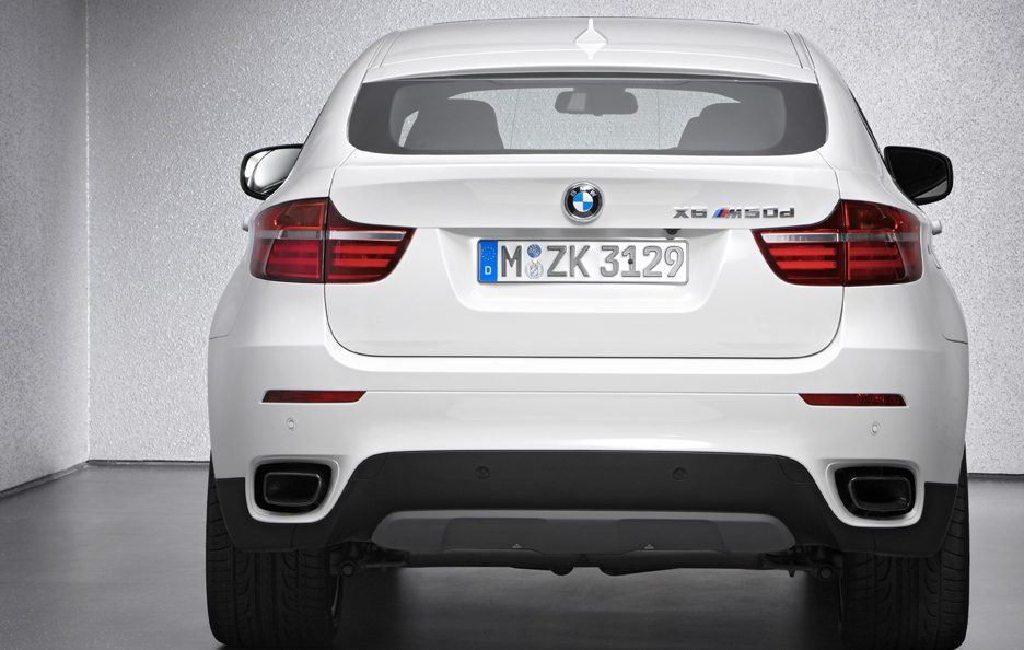 BMW X6 M50d - Posteriore