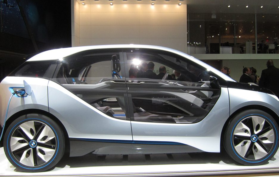 BMW i3 - Laterale