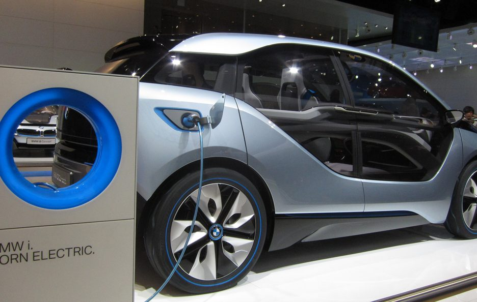 BMW i3 - Laterale basso