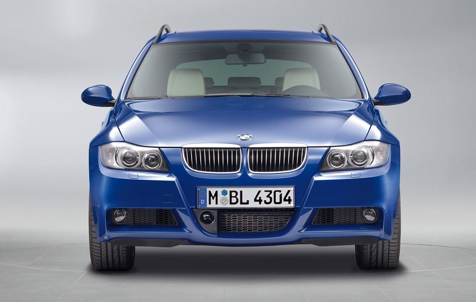 BMW serie 3 Touring frontale