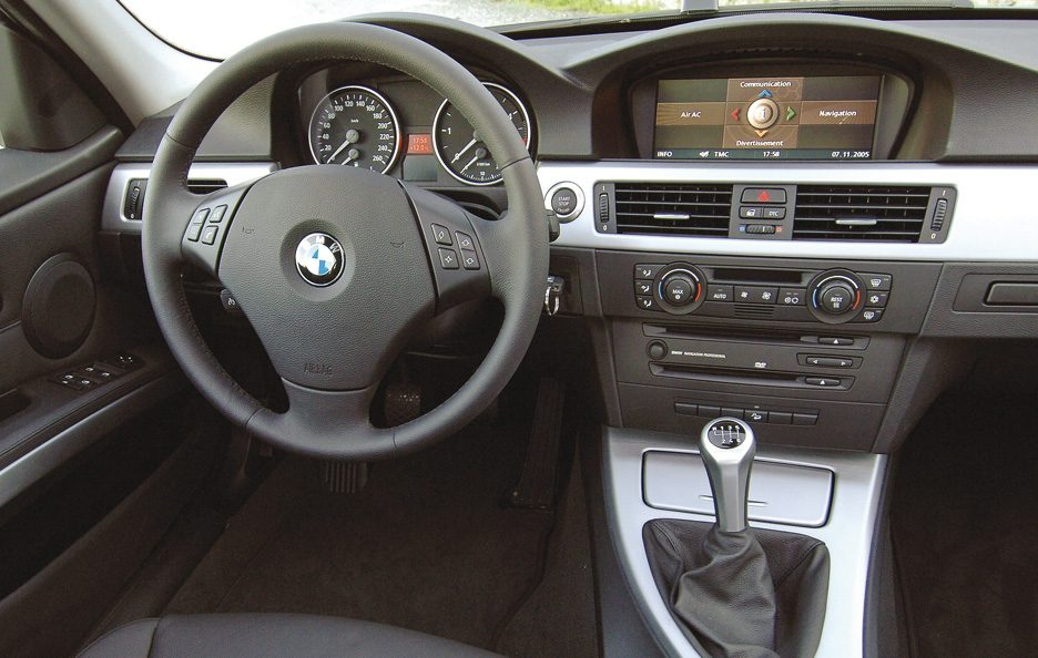 BMW serie 3 Touring interni