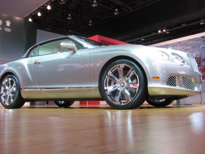 Lo Stand Bentley a Detroit