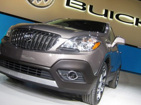 Buick Encore - Frontale basso