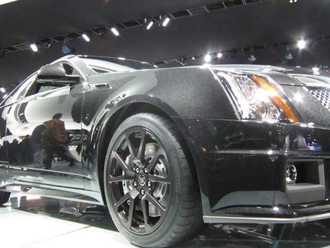 Cadillac CTS - Anteriore