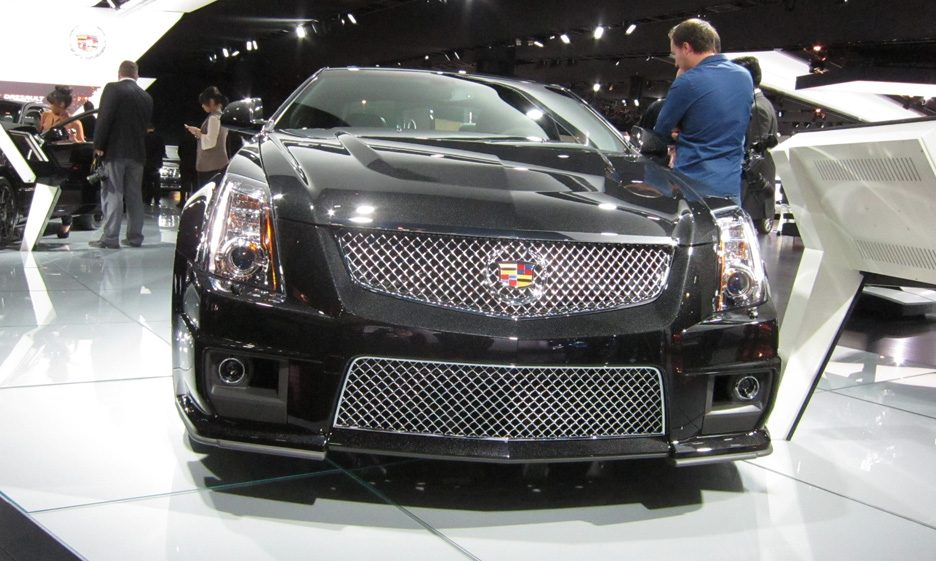 Cadillac CTS - Frontale