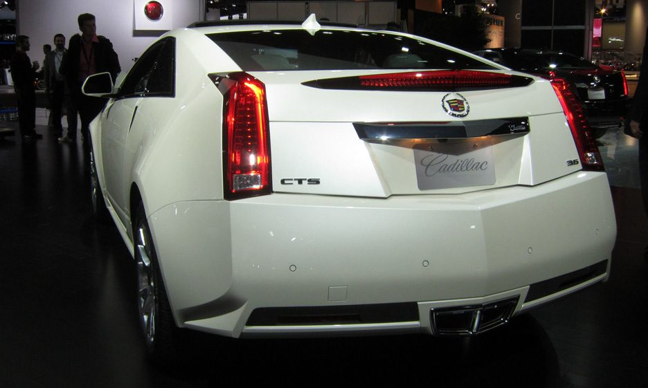 Cadillac CTS - Posteriore