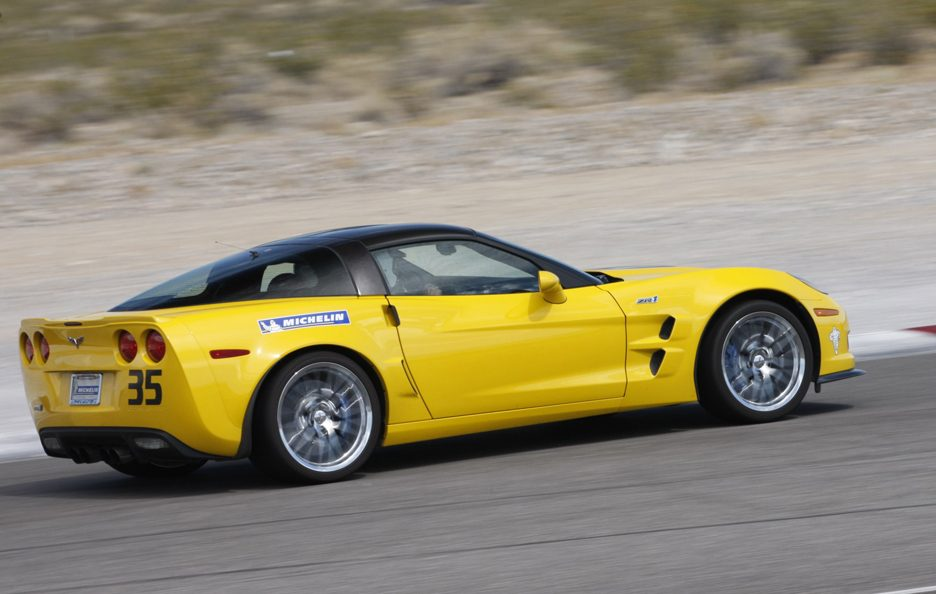 Chevrolet Corvette ZR1 - Il laterale
