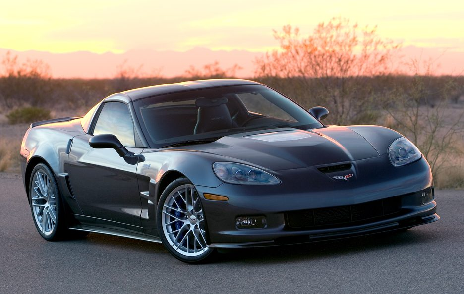 Chevrolet Corvette ZR1 - Linea