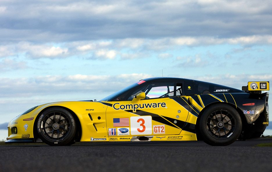 Chevrolet Corvette ZR1 - Racing laterale