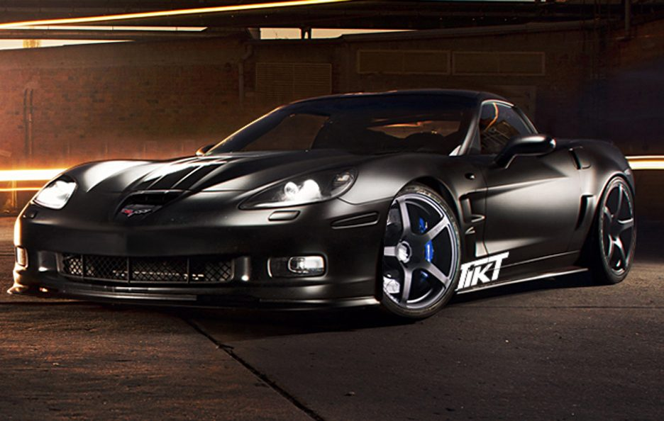 Chevrolet Corvette ZR1 by TIKT - In nero