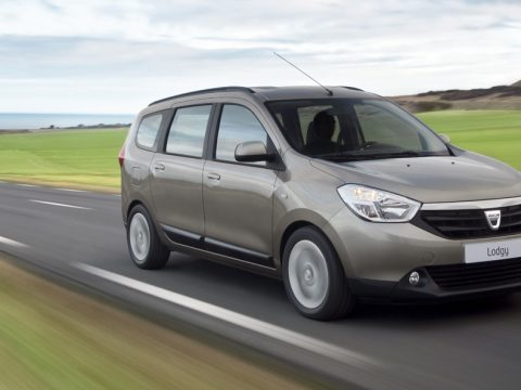 Dacia Lodgy - In motion