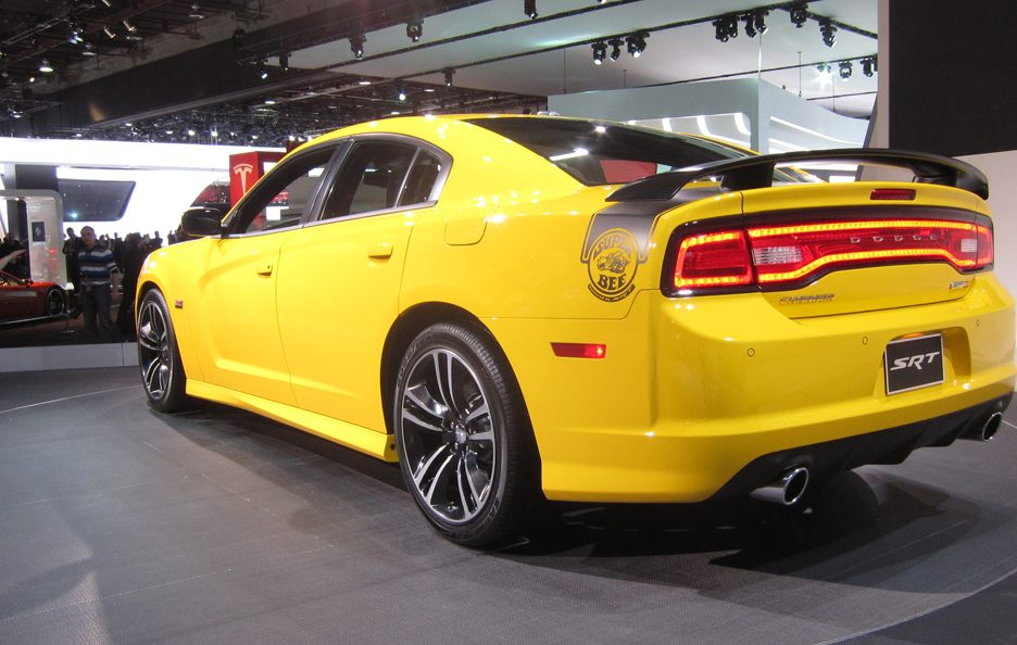 Dodge Charger SRT-8 - Il posteriore