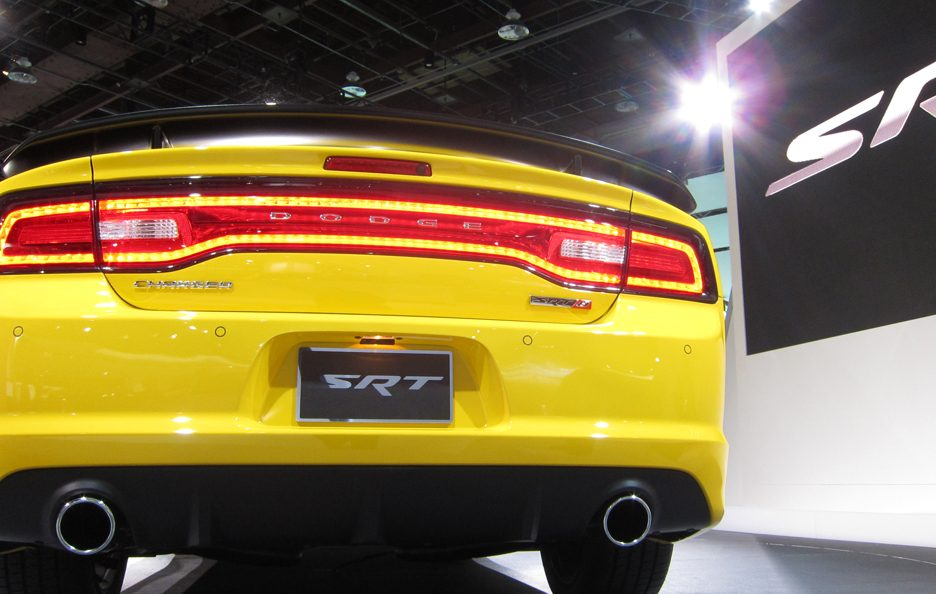 Dodge Charger SRT-8 - Posteriore