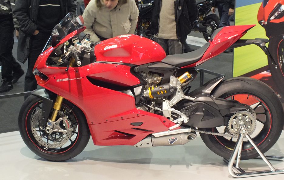 Ducati Panigale 1198 - Laterale