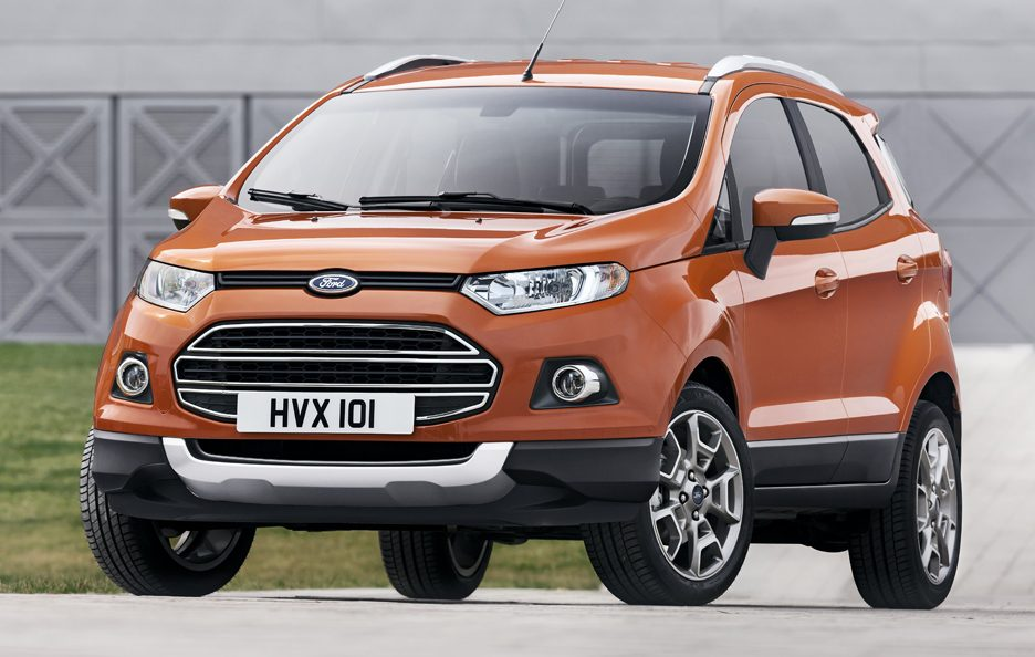 Ford EcoSport SUV - Frontale