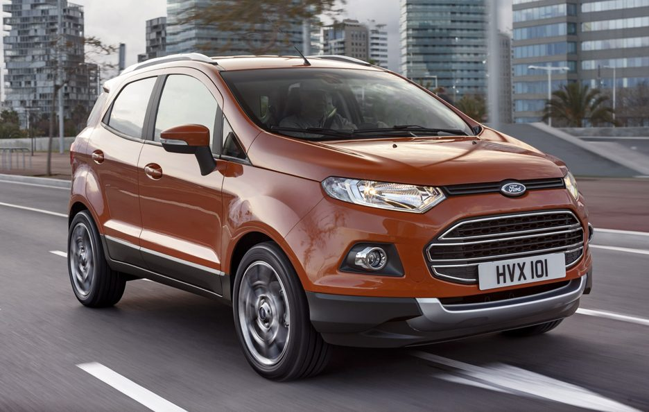 Ford EcoSport SUV - In motion