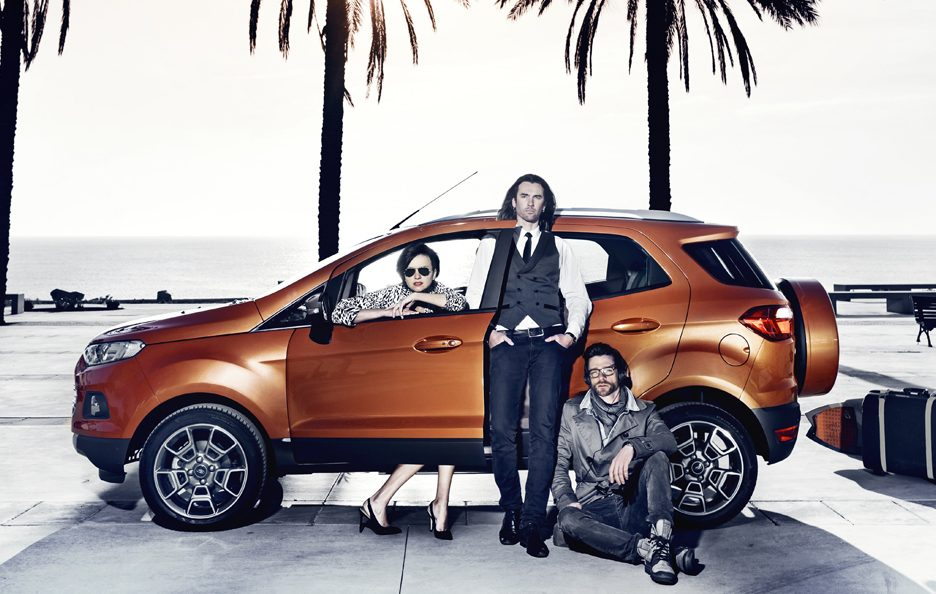 Ford EcoSport SUV - Laterale