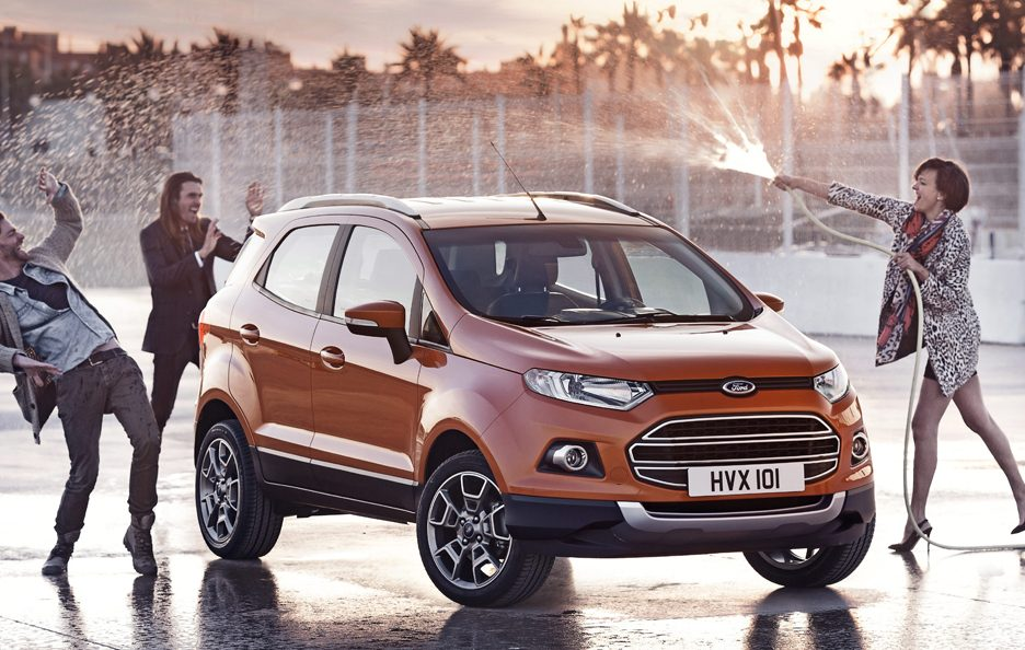 Ford EcoSport SUV - Le linee