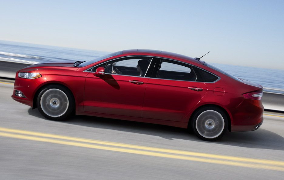 Ford Fusion - In motion