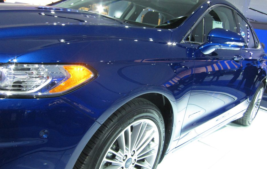 Ford Fusion - Lo stacco laterale