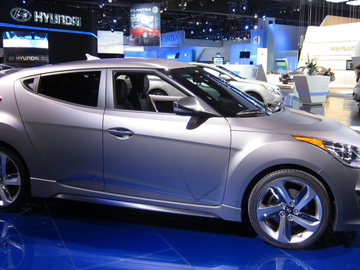 Hyundai Veloster Turbo - Laterale