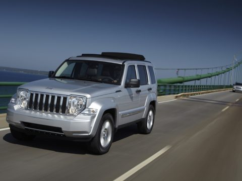 Jeep Cherokee - In motion
