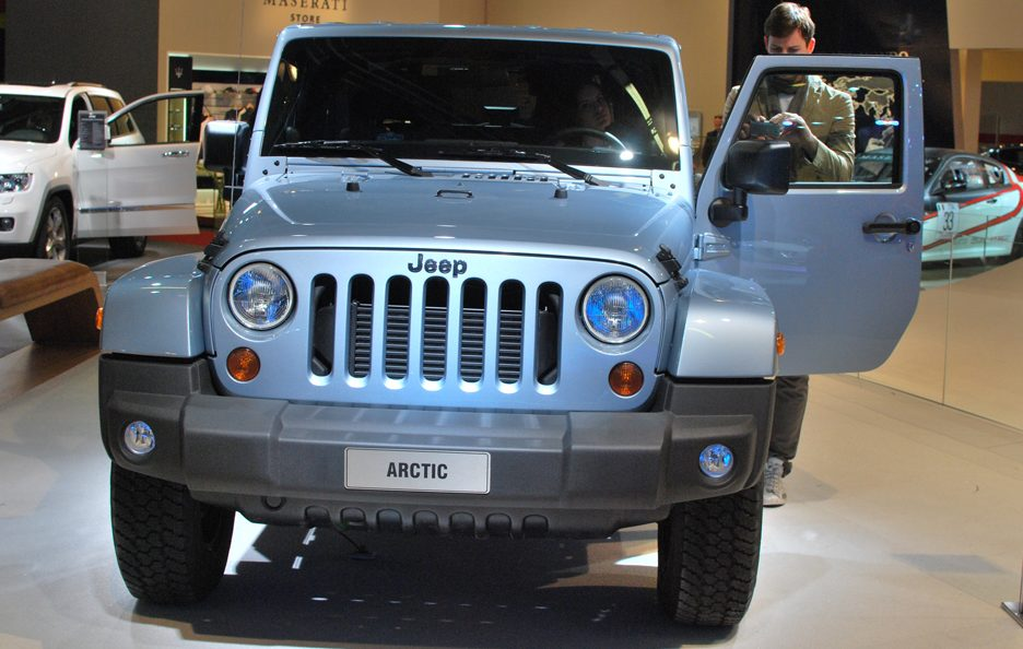 Jeep Wrangler Artic - Frontale