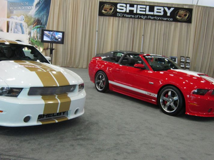 Lo stand Shelby a Detroit