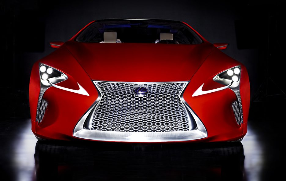 Lexus LF-LC Hybrid Sports Coupe Concept - Frontale