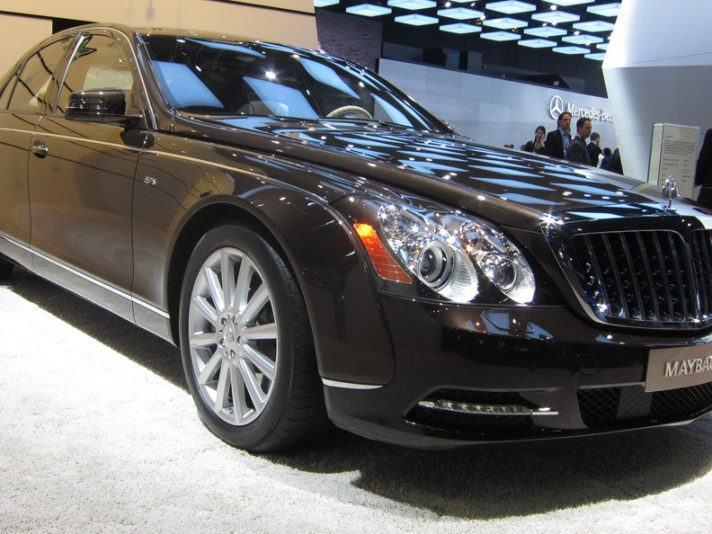Maybach 57 S - Detroit 2012