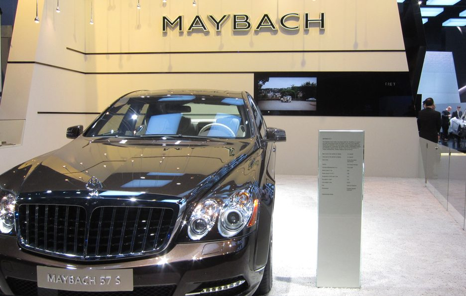 Maybach 57 S - Frontale
