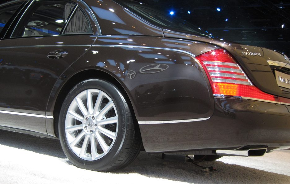 Maybach 57 S - Posteriore