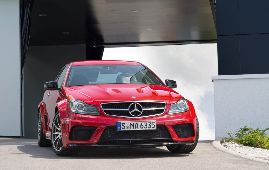 Mercedes C 63 Frontale