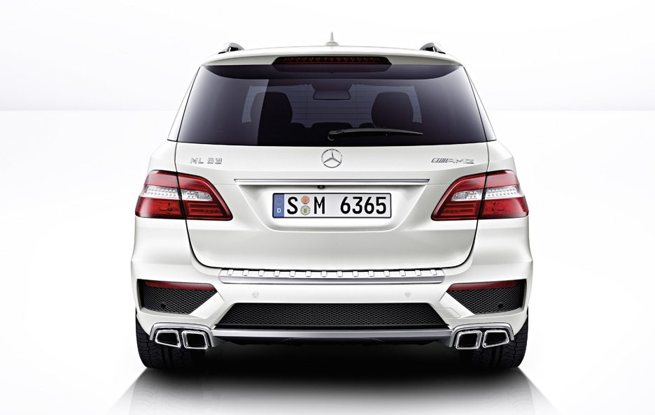 Mercedes ML 63 AMG - Coda