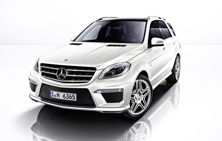 Mercedes ML 63 AMG - Design