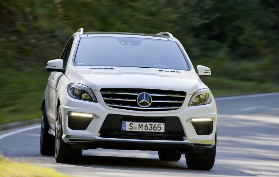 Mercedes ML 63 AMG - Frontale