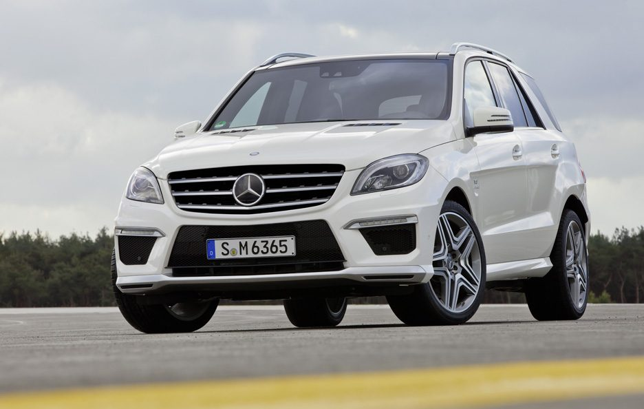 Mercedes ML 63 AMG - Stile