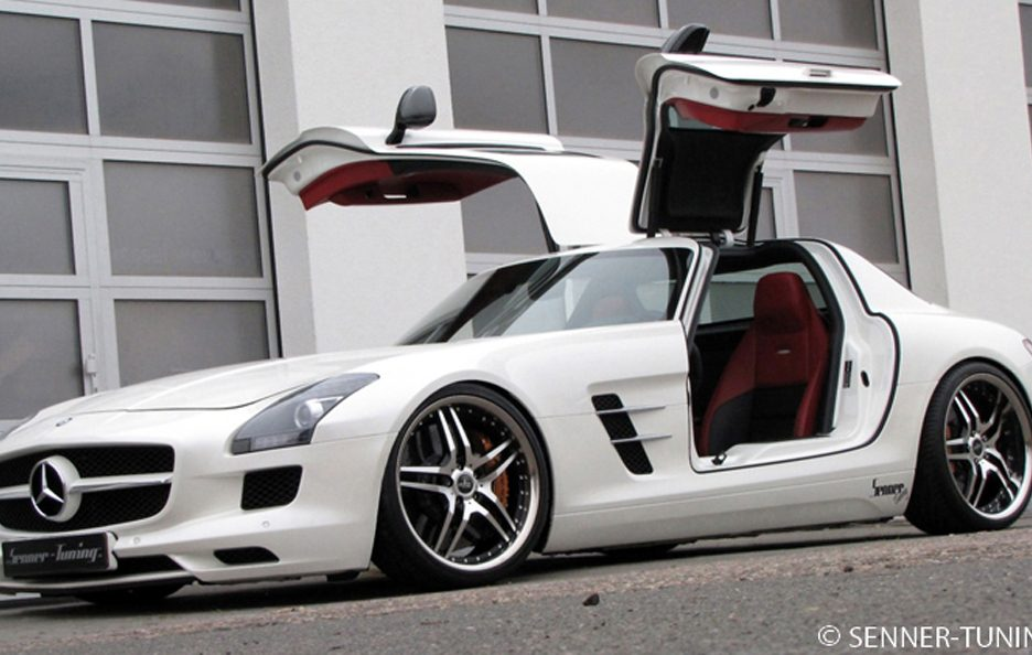 Mercedes SLS AMG by Senner - Portiere